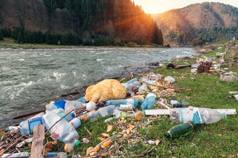 Río contaminado