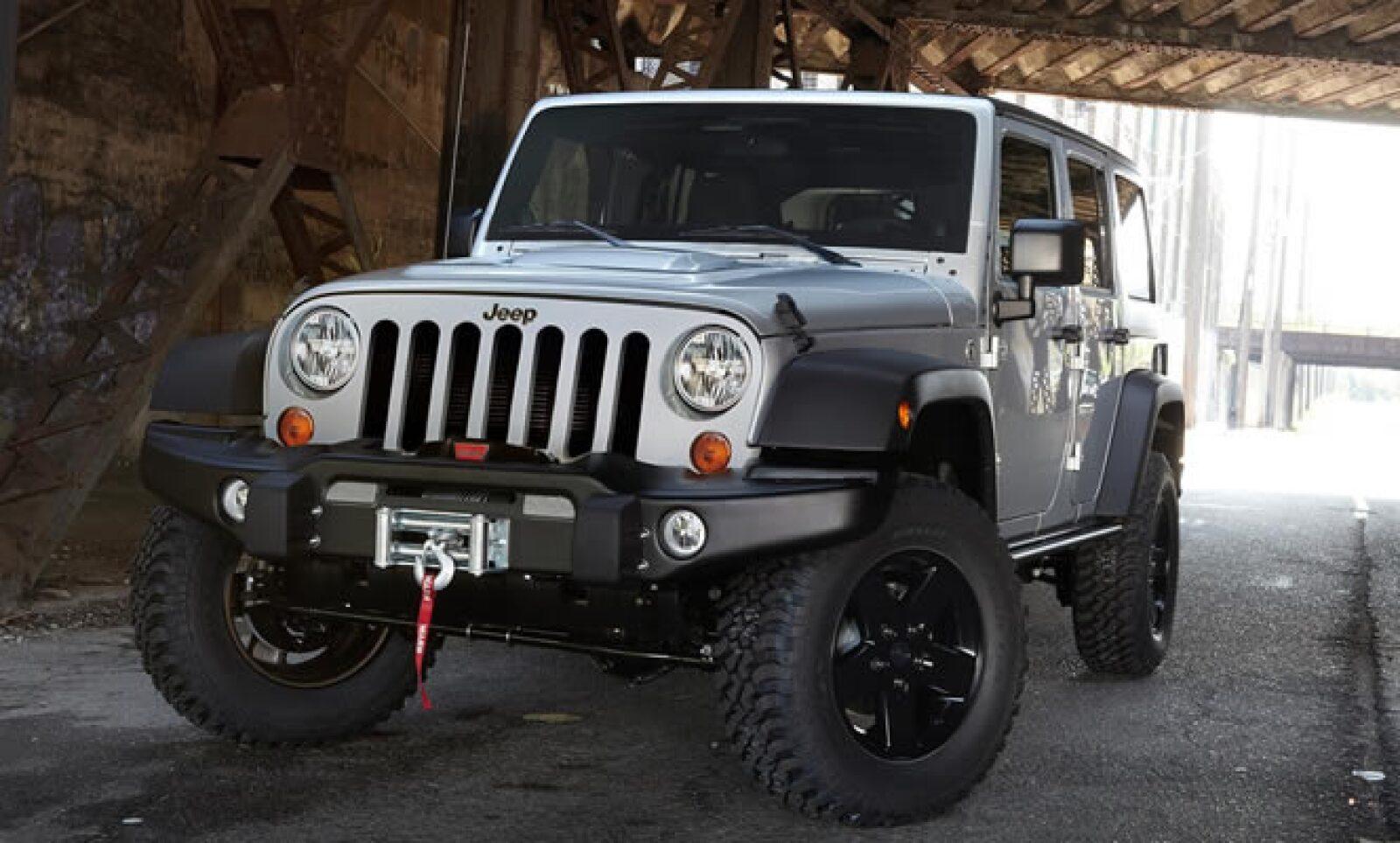 Jeep y la firma de videojuegos Activision se unieron para crear una edición especial de su camioneta, con el juego 'Call of Duty: Modern Warfare 3'.