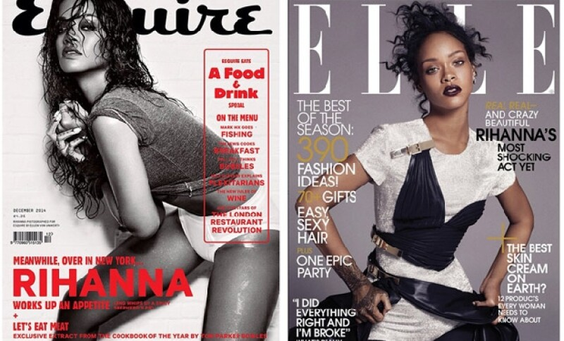 Rihanna es portada para la próxima edición de Elle USA y en diciembre será para Esquire UK.