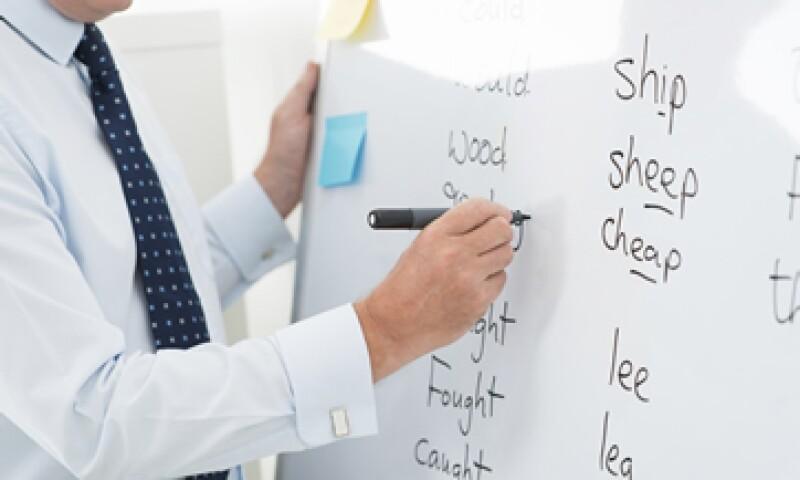 La mitad de los profesores de inglés no comprenden lo que deberían enseñar.  (Foto: iStock )