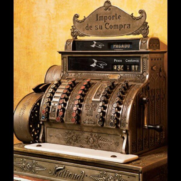 6.Caja registradora, hotel Casa de la Marquesa, Querétaro.
