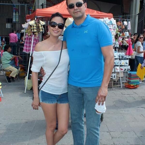 Berenice Ramírez y Oswaldo Valencia