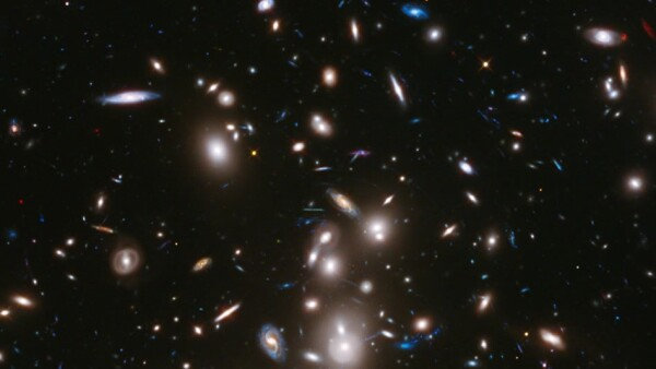Hubble Space Telescope Abell 2744
