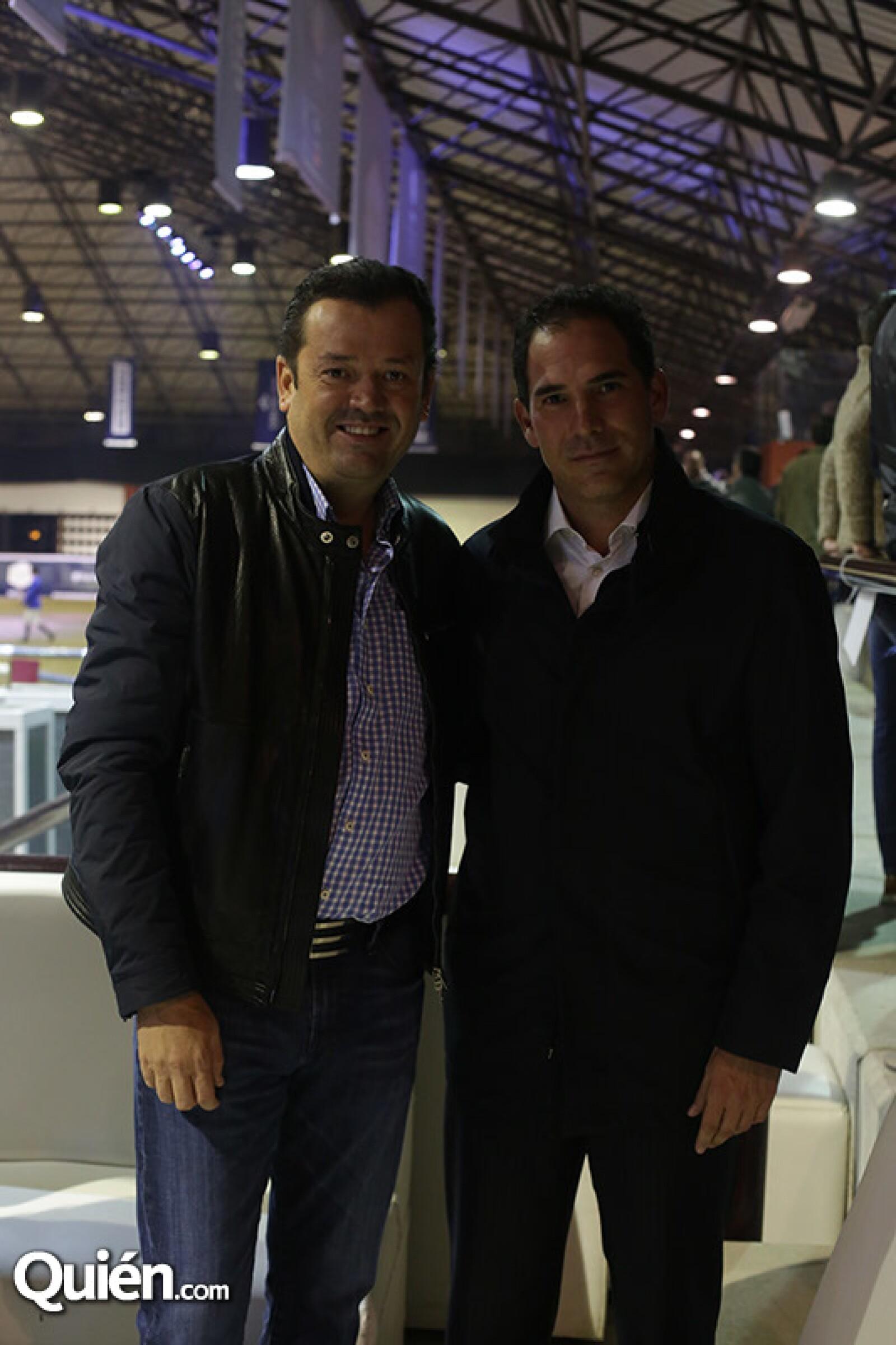 Mario Oñate y Pablo Escudero