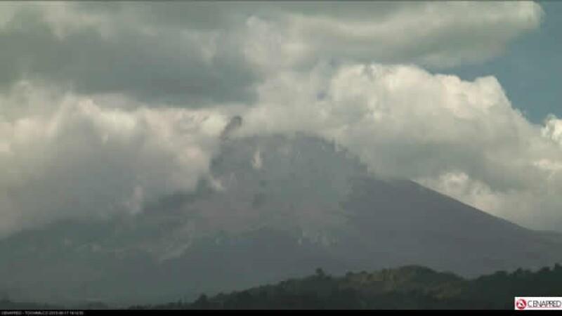 Popocatépetl 170813