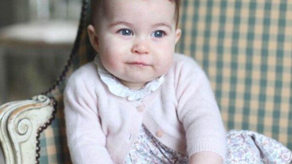 La hija menor del príncipe William y Kate Middleton tiene casi siete meses de edad, y para celebrarlo sus papás han decidido compartir un par de fotos de la pequeña princesa.