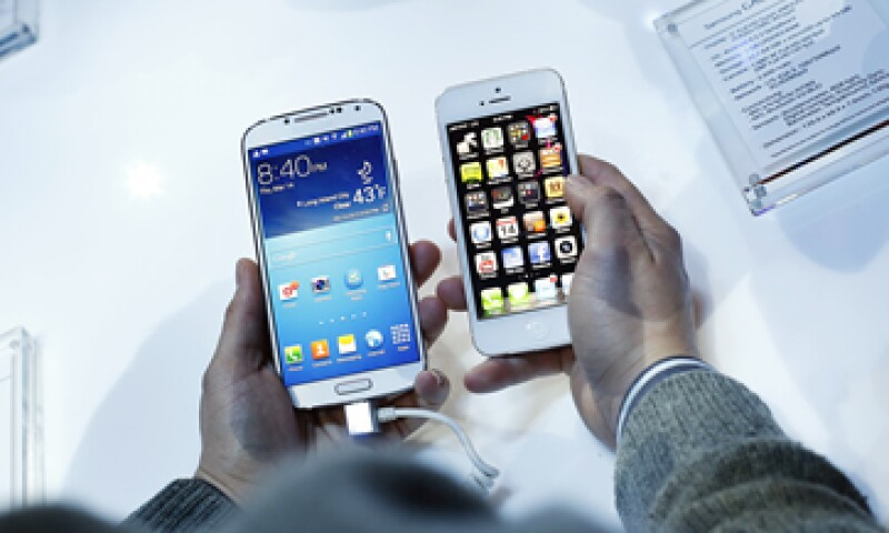 Samsung y Apple litigan por patentes de teléfonos inteligentes y tabletas desde 2011. (Foto: Getty Images)