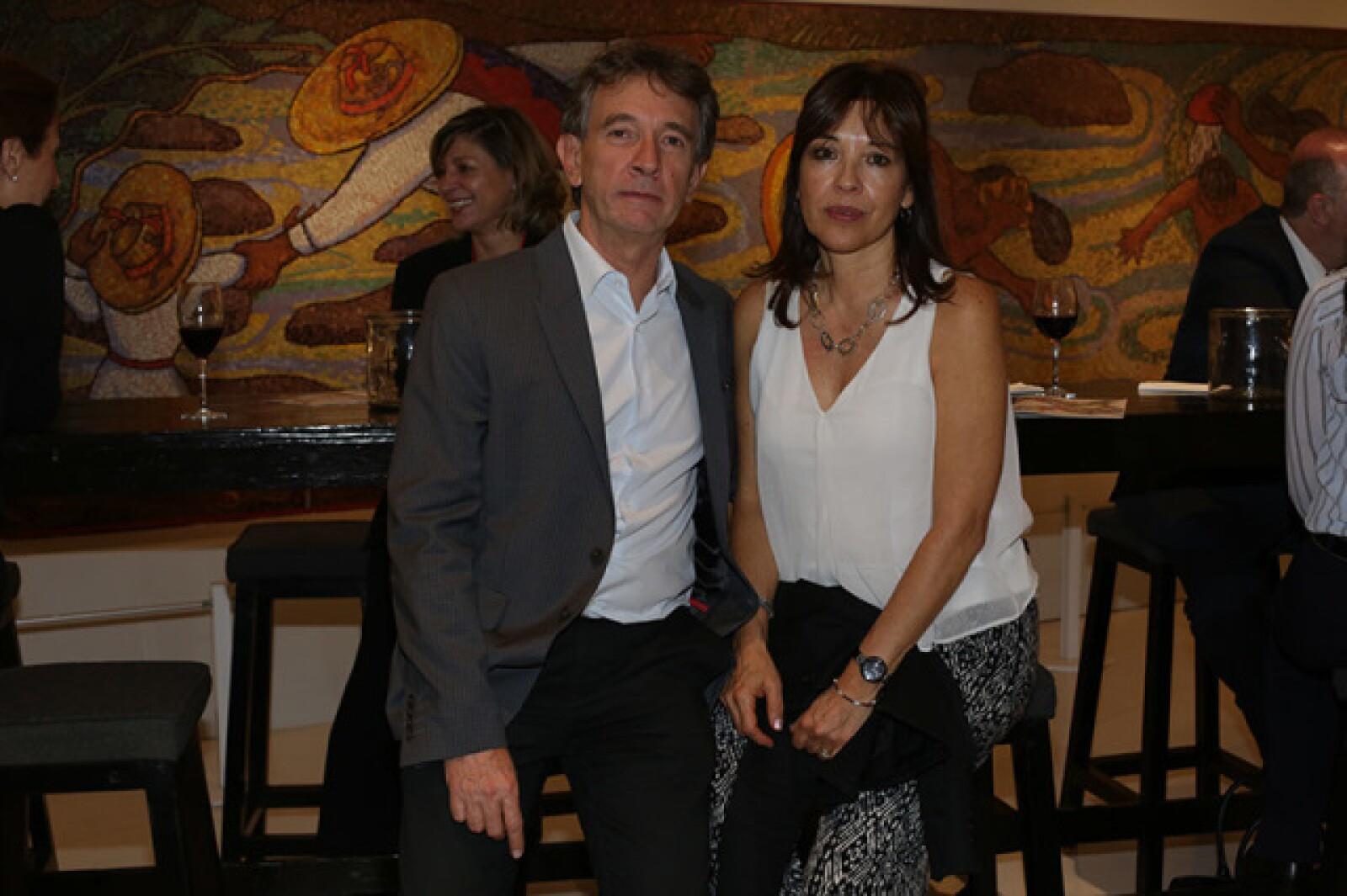 Gerardo Reyes Retana y Chelo Rodríguez