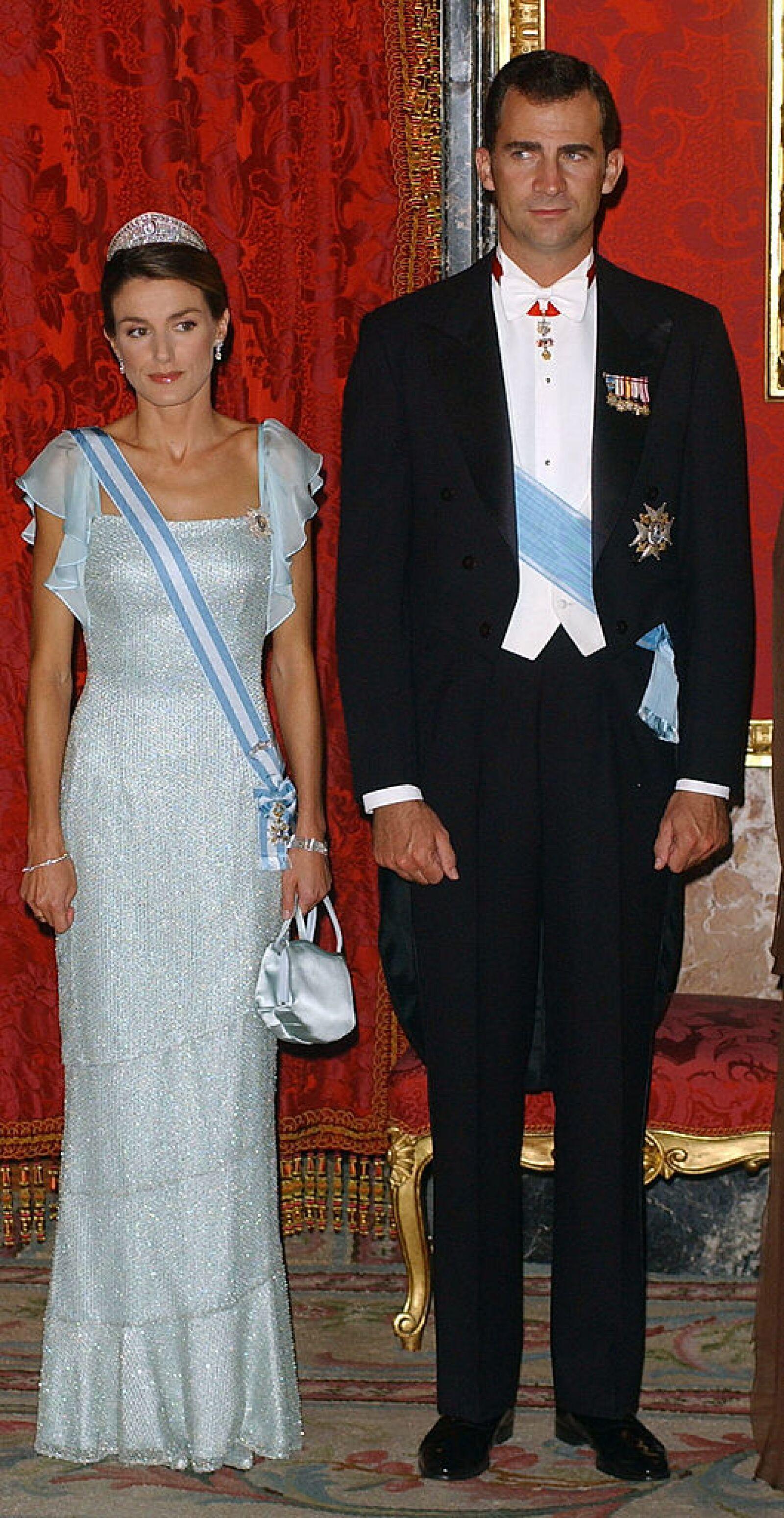 Spanish Royals Host Gala Dinner For Vaclav Klaus