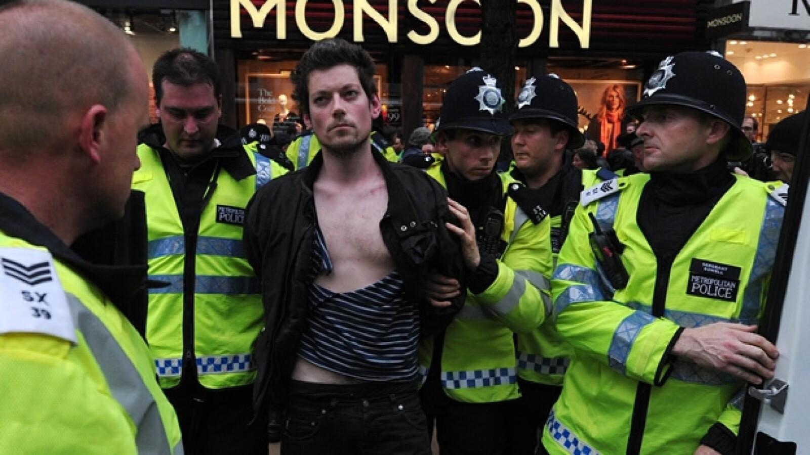 Londres protestas recortes 2