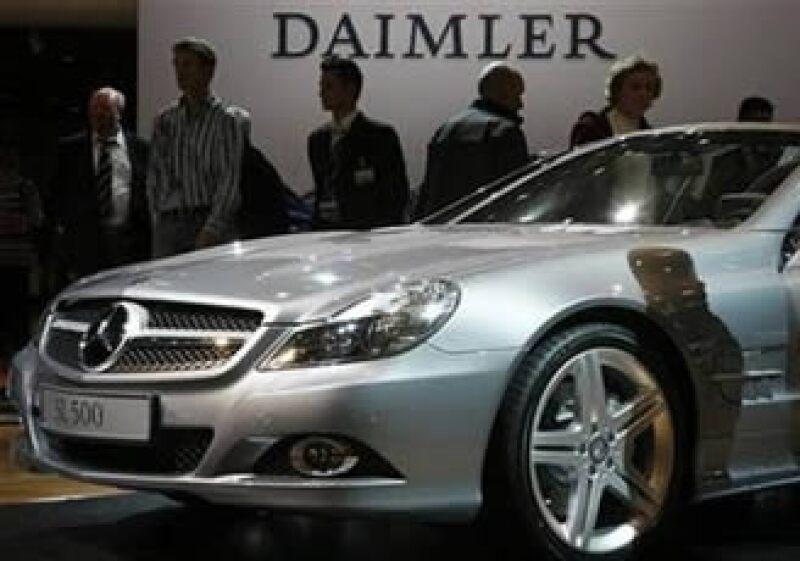 Los motores fabricados por Daimler estarán al acceso de Nissan. (Foto: Reuters)