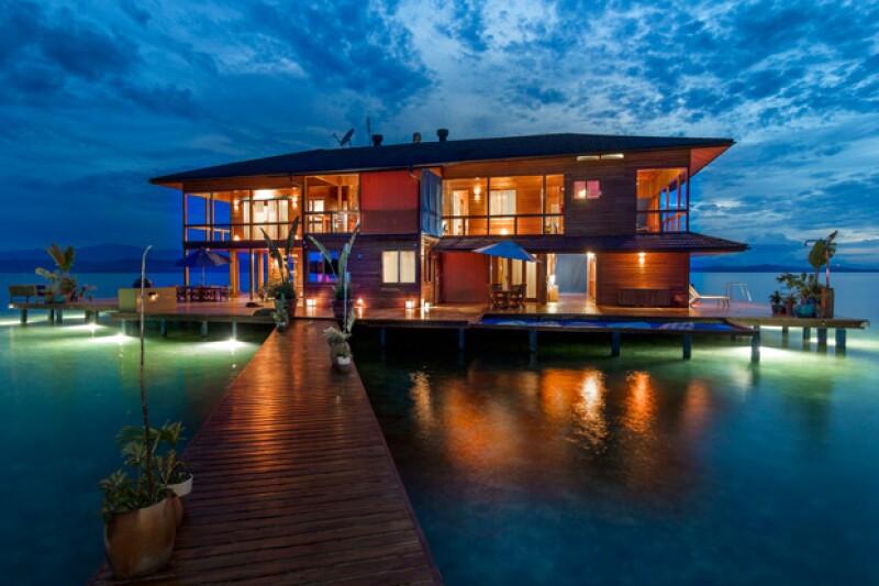Si estas buscando el paraíso, conoce esta villa privada ubicada en la isla Bocas del Toro, Panamá.