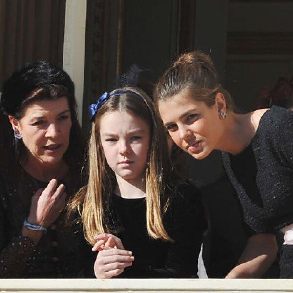 Es muy común ver a la recién cumpleañera acudir a los eventos donde Carlota compite.
