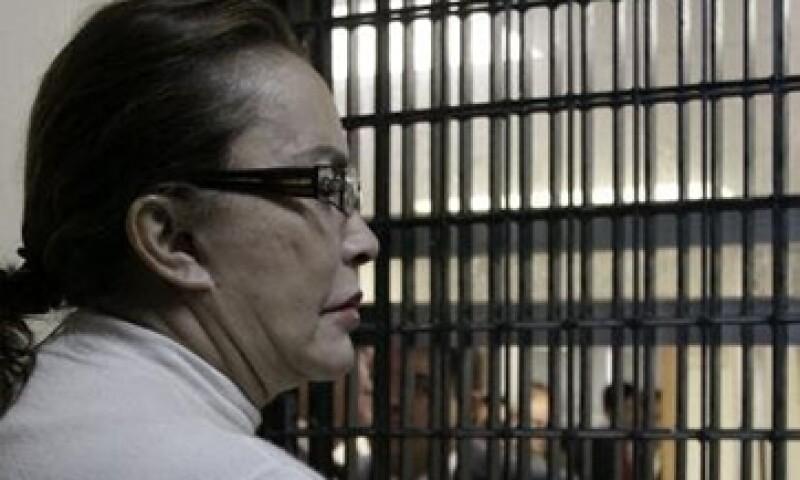 Gordillo fue detenida el martes en el aeropuerto de Toluca, Estado de México. (Foto: Notimex)
