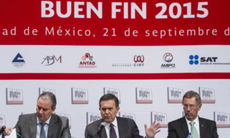 """La quinta edición del evento beneficiará """"a todos los involucrados"""", aseguró el secretario de Economía. (Foto: Cuartoscuro )"""