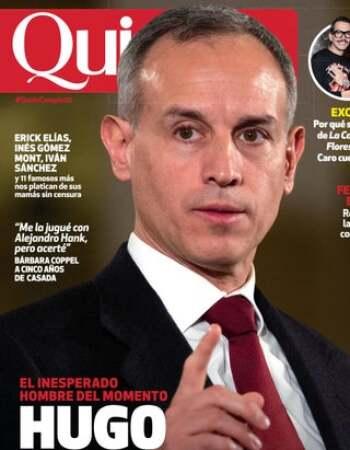 Hugo López-Gatell en portada de Quién.