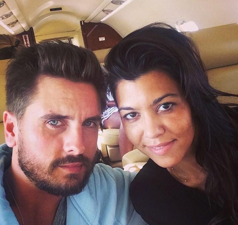 Scott y Kourtney tienen dos hijos: Mason y Penelope.