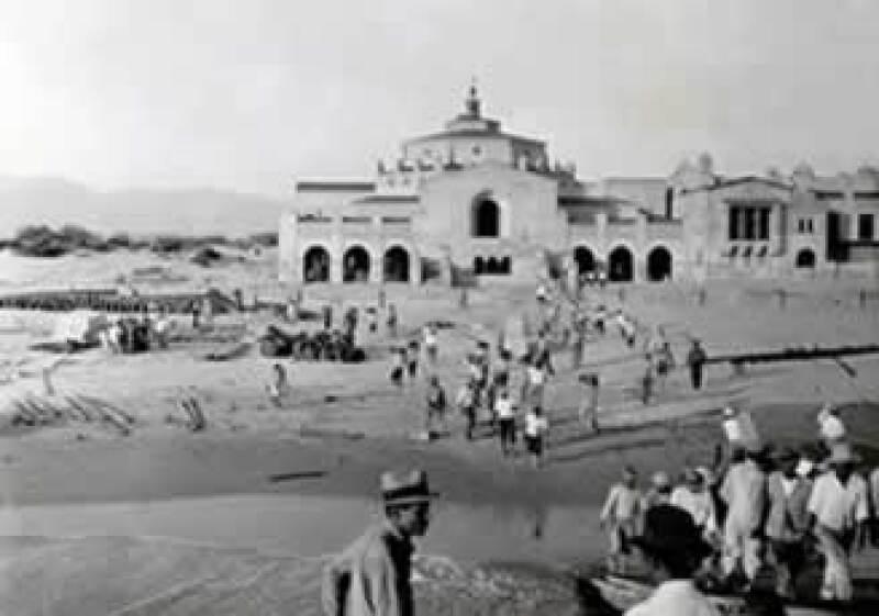 El inmueble de la costa de Ensenada fue financiado por un grupo de empresarios estadounidenses durante la época de la Ley Seca en su país. (Foto: Fototeca de archivo histórico de Baja California)