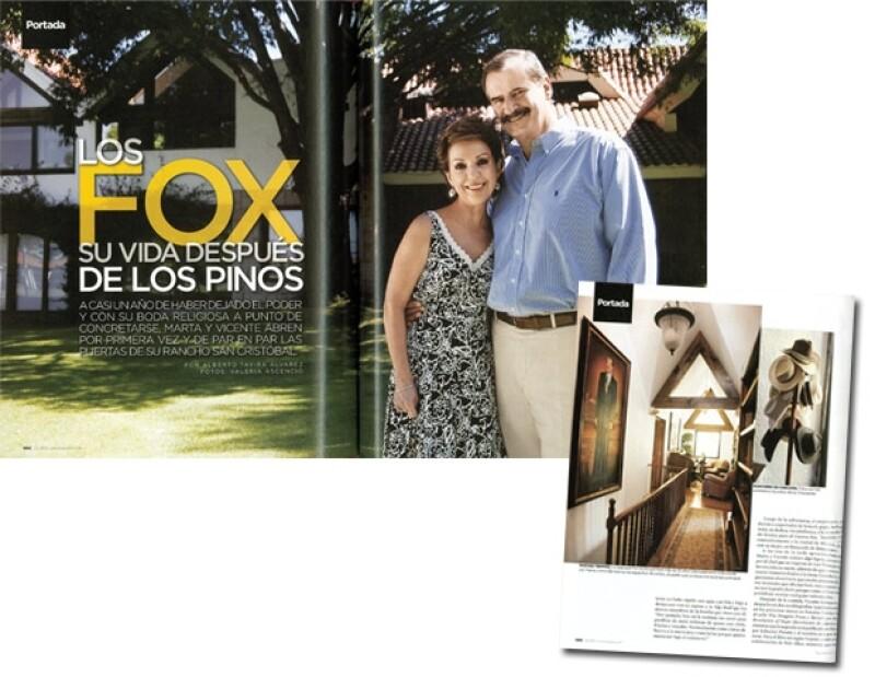 La entrevista y fotos de Vicente Fox se publicaron en la revista Quién, edición 149 (Sept. 2007). Fotos: Valeria Ascencio/Texto: Alberto Tavira (Retoque digital: Areli Sánchez)