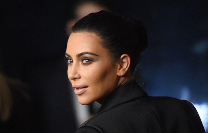 El contour es la técnica que Kim usa para maquillarse.