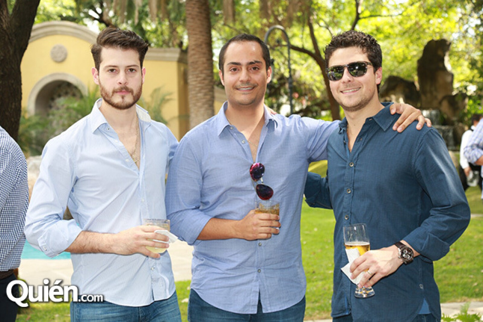 Rodrigo Padilla,Carlos Califa y René Elizondo