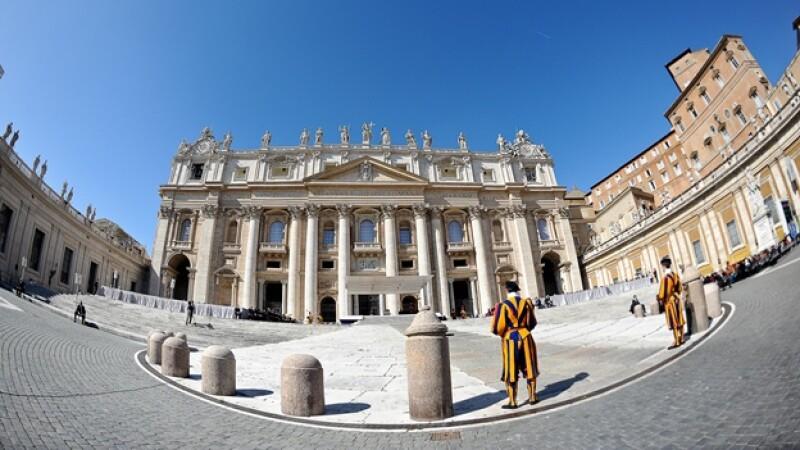 edificio en el vaticano