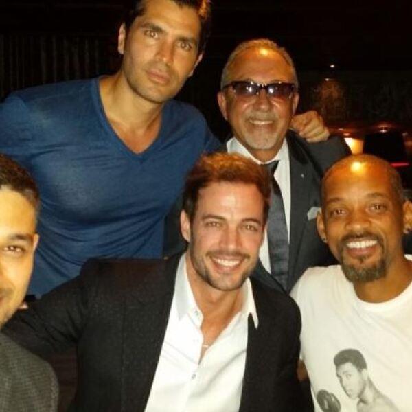 Wilmer Valderrama, Eduardo Verástegui, William Levy, Emilio Estefan y Will Smith.