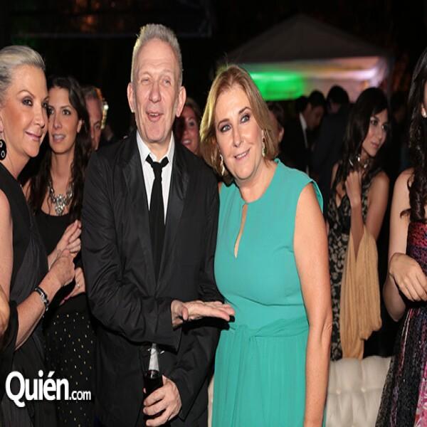 Gina Diez Barroso,Jean Paul Gaultier,Mary Paz Ocejo