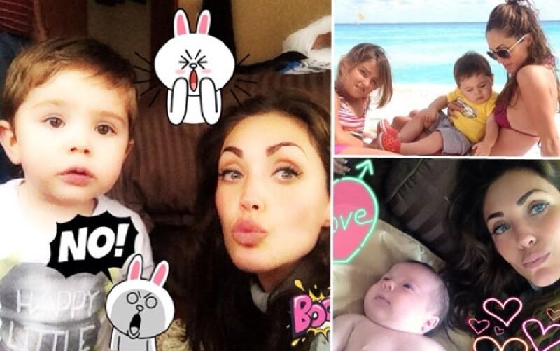 La cantante compartió a través de Instagram una fotografía de su nuevo sobrino con un hashtag que revela sus intenciones de convertirse en mamá.