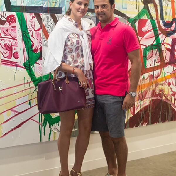 Mariana Ancona y Gerardo Briones
