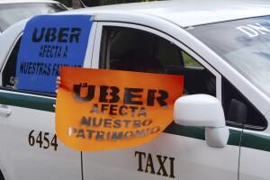 Respaldo a los taxistas