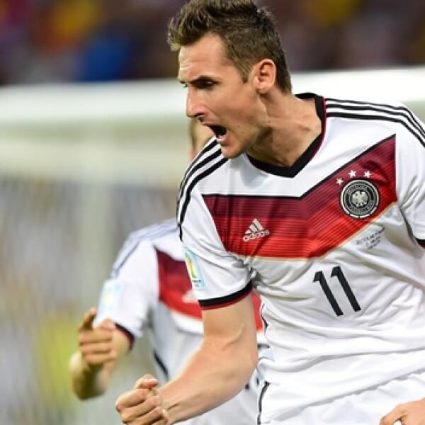 Miroslave Klose Alemania Ghana