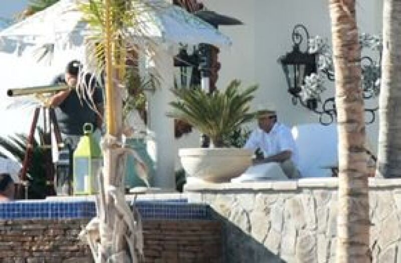Se hospedó en el exclusivo One and Only Palmilla, hotel que ha elegido ya en varias ocasiones para descansar y en donde bautizó a su hijo Miguel en julio de 2007.