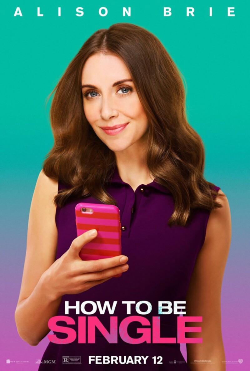 Alison Brie: la adicta a Tinder.