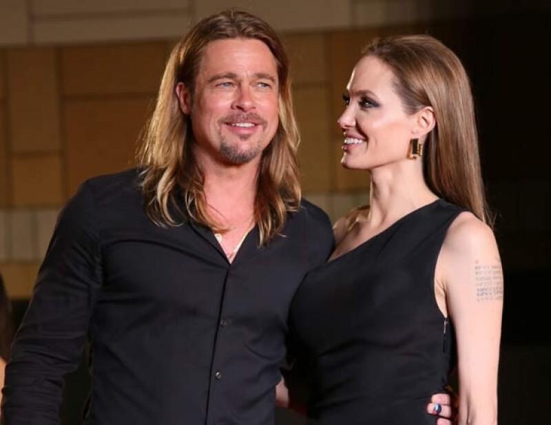 Angelina encontró la forma más original de demostrarle su amor a su pareja.