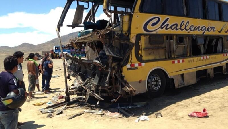 choque Perú accidente