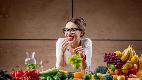 Frutas y verduras - alimentación sana - alimentos para la salud mental