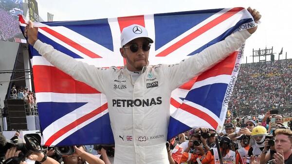 Por cuarta ocasión, Lewis Hamilton se proclama campeón de Fórmula 1