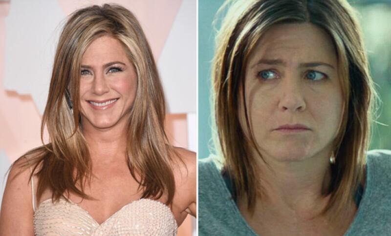 Jennifer Aniston subió considerablemente de peso para su papel en Cake.