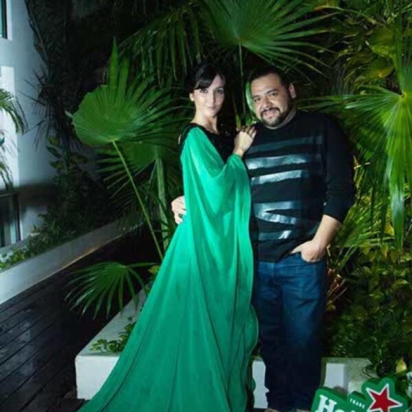 Eréndira Ibarra y Benito Santos