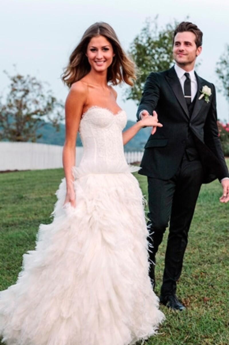 Jared Followill, del grupo Kings of Leon, y la modelo Martha Patterson contrajeron matrimonio cerca de la ciudad estadounidense de Nashville.