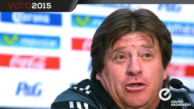 El entrenador del tri dijo que sus publicaciones en Twitter el domingo de las elecciones en México fueron una tontería