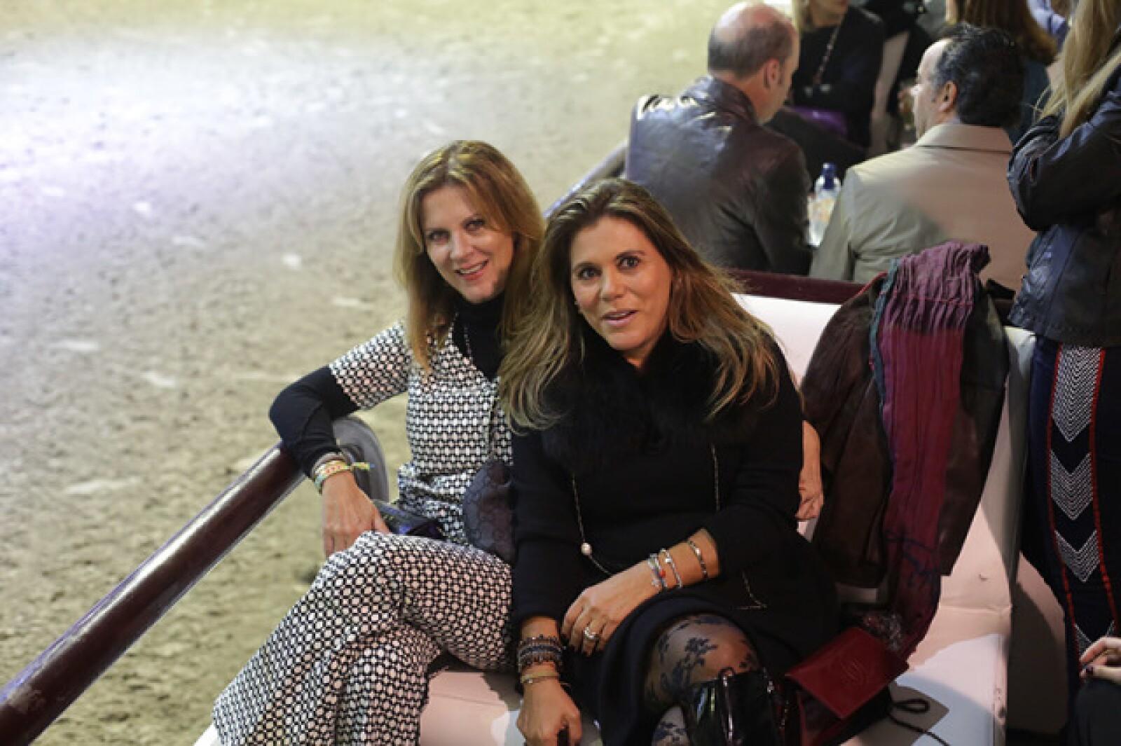 Alejandra de la Garza y Marisa de la Tejera