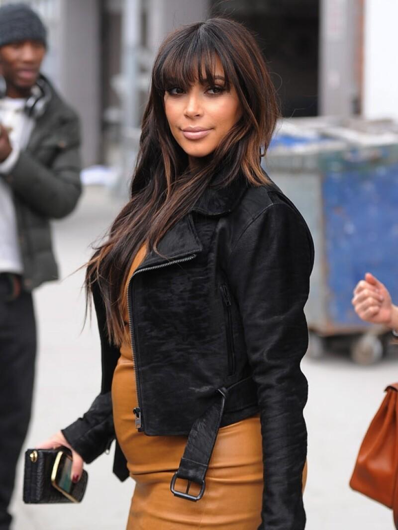 Kim tendrá una niña.