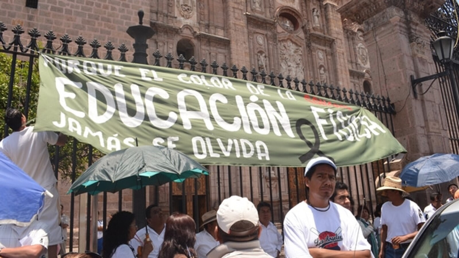 homenaje en michoacan