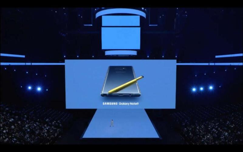 El nuevo Samsung Galaxy Note 9