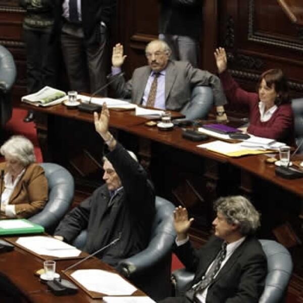 Uruguay senado aborto