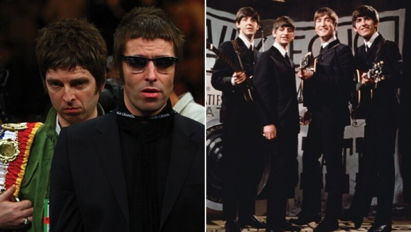 Oasis y The Beatles
