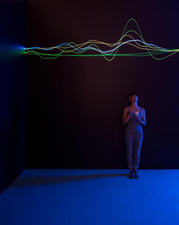 Helado, exhibición en Londres