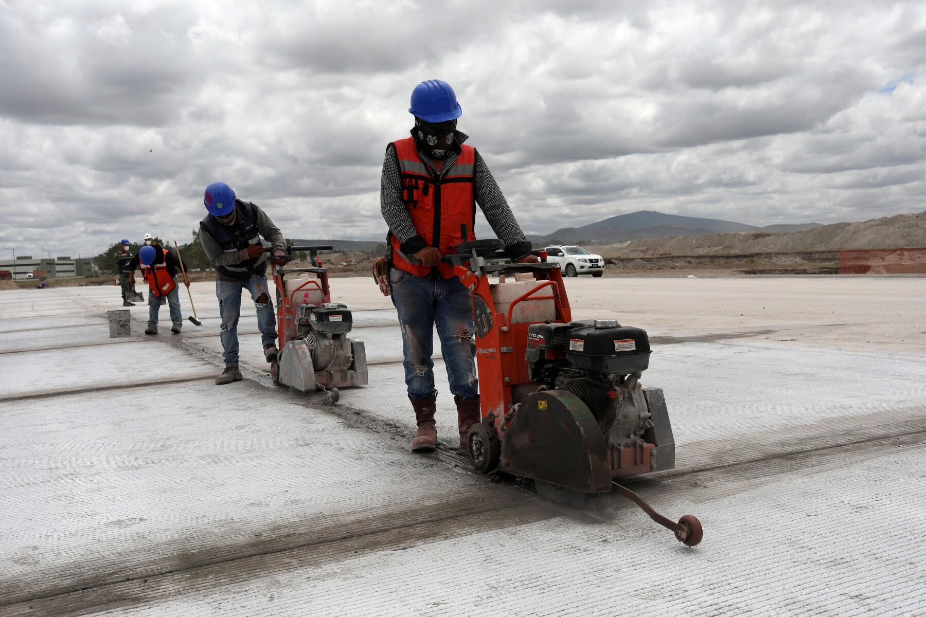 Mexico's new international airport in Zumpango